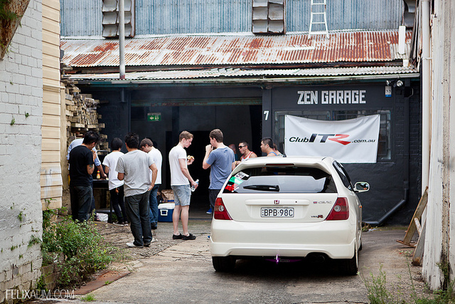 ClubITR NSW February 2012 Zen Garage