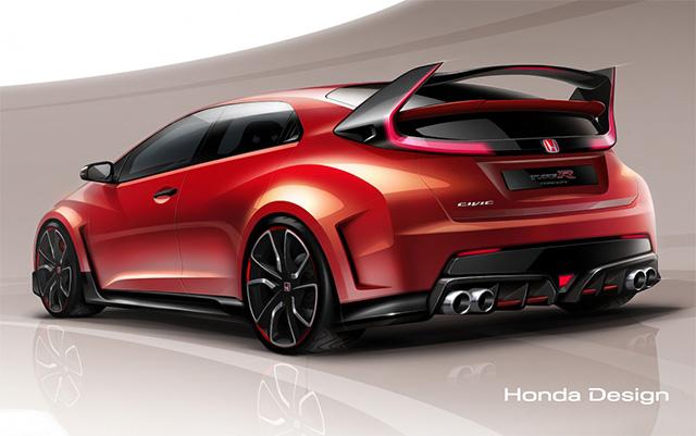 2015 Honda Civic Type R Concept Geneva